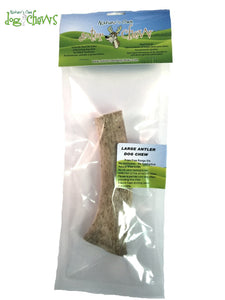 Nature's Own Chews - Antler Chew Bone - Chubbs Bars, Chews - pet shampoo, Woofur Natural Pet Products - Chubbs Bars Company, Woofur Natural Pet Products - Chubbs Bars Canada