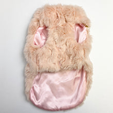 Load image into Gallery viewer, LWD - Pink Fur Jacket with Pearls