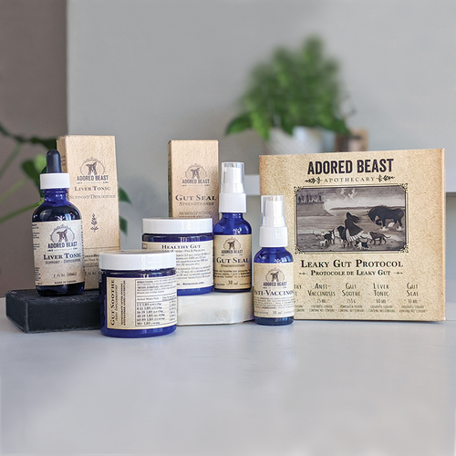 ADORED BEAST - LEAKY GUT PROTOCOL - Chubbs Bars, Supplements - pet shampoo, Woofur - Chubbs Bars Company, Woofur Natural Pet Products - Chubbs Bars Canada