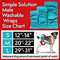 Simple Solution - Washable Male Wrap - Chubbs Bars,  - pet shampoo, Woofur Natural Pet Products - Chubbs Bars Company, Woofur Natural Pet Products - Chubbs Bars Canada