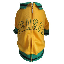 Load image into Gallery viewer, Mutley Collection Olympic Soccer Jersey - Brasil - Chubbs Bars,  - pet shampoo, Woofur Natural Pet Products - Chubbs Bars Company, Woofur Natural Pet Products - Chubbs Bars Canada