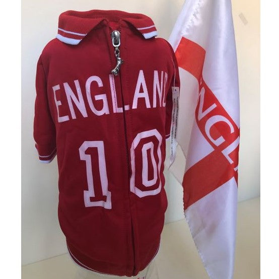 Mutley Collection Olympic Soccer Jersey - England - Chubbs Bars,  - pet shampoo, Woofur Natural Pet Products - Chubbs Bars Company, Woofur Natural Pet Products - Chubbs Bars Canada