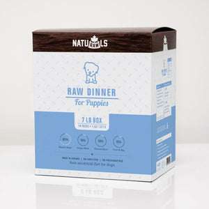 NATURAWLS - DINNER FOR PUPPIES - Chubbs Bars,  - pet shampoo, Woofur Natural Pet Products - Chubbs Bars Company, Woofur Natural Pet Products - Chubbs Bars Canada