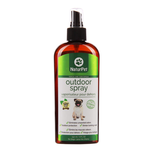 NaturPet - Outdoor Spray - Chubbs Bars, Supplements - pet shampoo, Woofur - Chubbs Bars Company, Woofur Natural Pet Products - Chubbs Bars Canada