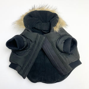 Canada Pooch - North Pole Parka (Black)