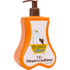 Organic Oscar - 2 in 1 Shampoo & Conditioner - Chubbs Bars, Grooming Accessories - pet shampoo, Woofur - Chubbs Bars Company, Woofur Natural Pet Products - Chubbs Bars Canada