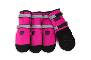 Pawsh Pads - Pink Boots - Woofur Natural Pet Products