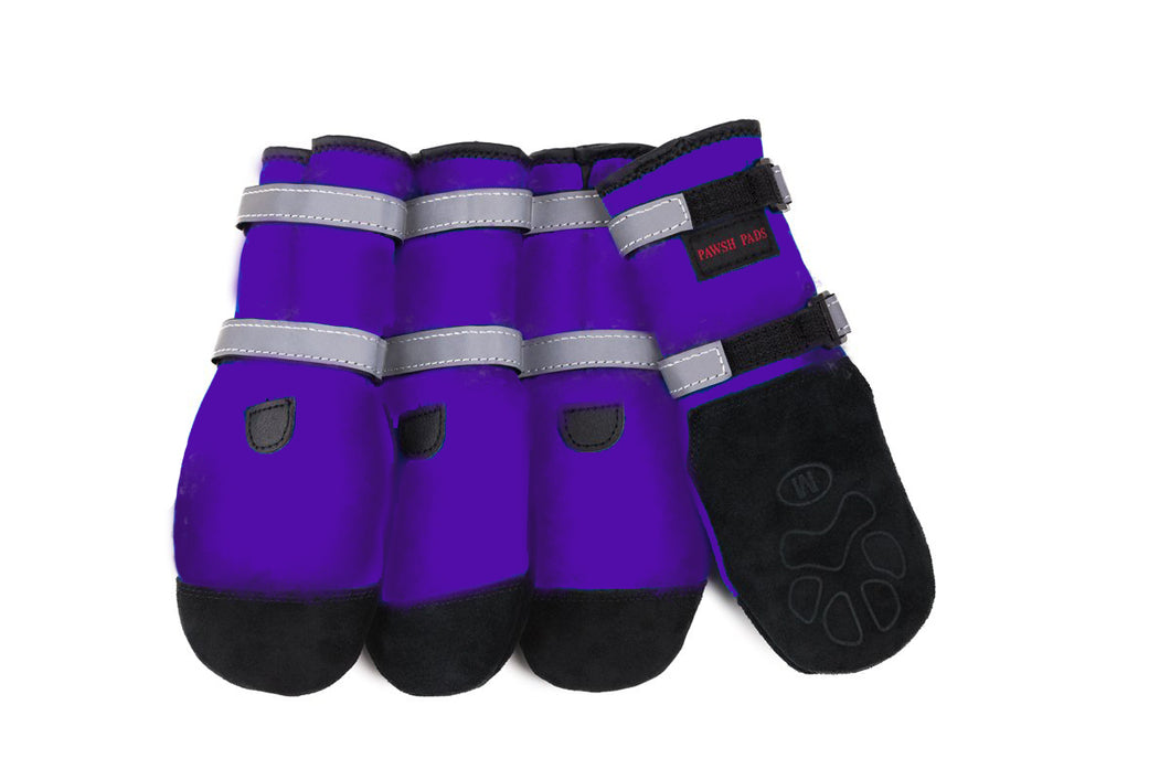 Pawsh Pads - Purple Boots - Chubbs Bars, Toys - pet shampoo, Woofur - Chubbs Bars Company, Woofur Natural Pet Products - Chubbs Bars Canada