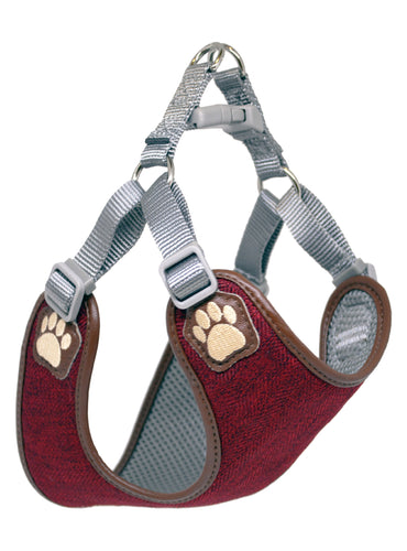 Pretty Paw - London Bordeaux Harness - Chubbs Bars, Treats - pet shampoo, Woofur - Chubbs Bars Company, Woofur Natural Pet Products - Chubbs Bars Canada