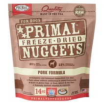 Load image into Gallery viewer, Primal Freeze Dried - Pork Formula - Chubbs Bars, Freeze Dried Food - pet shampoo, Woofur - Chubbs Bars Company, Woofur Natural Pet Products - Chubbs Bars Canada