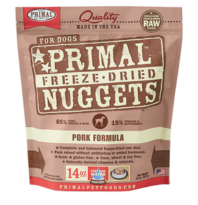 Primal Freeze Dried - Pork Formula - Chubbs Bars, Freeze Dried Food - pet shampoo, Woofur - Chubbs Bars Company, Woofur Natural Pet Products - Chubbs Bars Canada