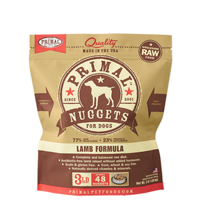 Primal Frozen - Lamb - 3lbs - Chubbs Bars, Frozen Raw Food - pet shampoo, Woofur - Chubbs Bars Company, Woofur Natural Pet Products - Chubbs Bars Canada