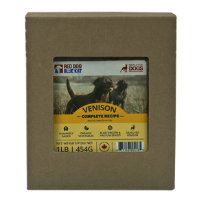 RDBK - COMPLETE VENISON DINNER - 4LBS - Chubbs Bars, Frozen Raw Food - pet shampoo, Woofur - Chubbs Bars Company, Woofur Natural Pet Products - Chubbs Bars Canada