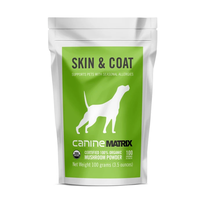 CANINE MATRIX - SKIN & COAT - Chubbs Bars, Supplements - pet shampoo, Woofur - Chubbs Bars Company, Woofur Natural Pet Products - Chubbs Bars Canada