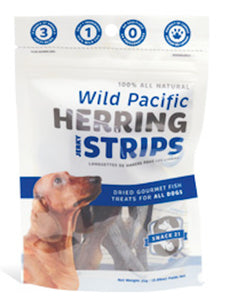 Snack21 - Wild Pacific Herring Strips Treats - Chubbs Bars, Treats - pet shampoo, Woofur - Chubbs Bars Company, Woofur Natural Pet Products - Chubbs Bars Canada