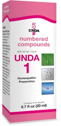 UNDA Numbered Compounds - #1 - Chubbs Bars,  - pet shampoo, Woofur Natural Pet Products - Chubbs Bars Company, Woofur Natural Pet Products - Chubbs Bars Canada