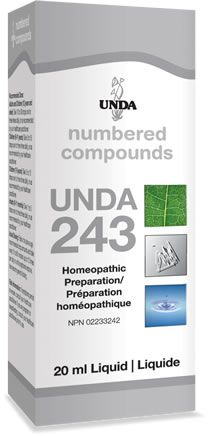 UNDA Numbered Compounds - #243 - Chubbs Bars,  - pet shampoo, Woofur Natural Pet Products - Chubbs Bars Company, Woofur Natural Pet Products - Chubbs Bars Canada