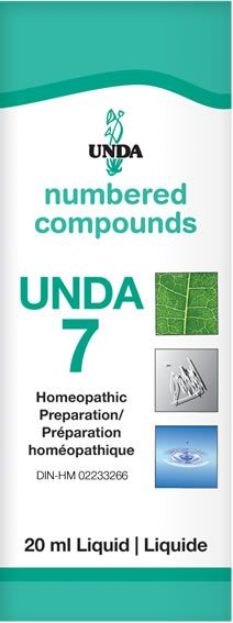 UNDA Numbered Compounds - #7 - Chubbs Bars,  - pet shampoo, Woofur Natural Pet Products - Chubbs Bars Company, Woofur Natural Pet Products - Chubbs Bars Canada