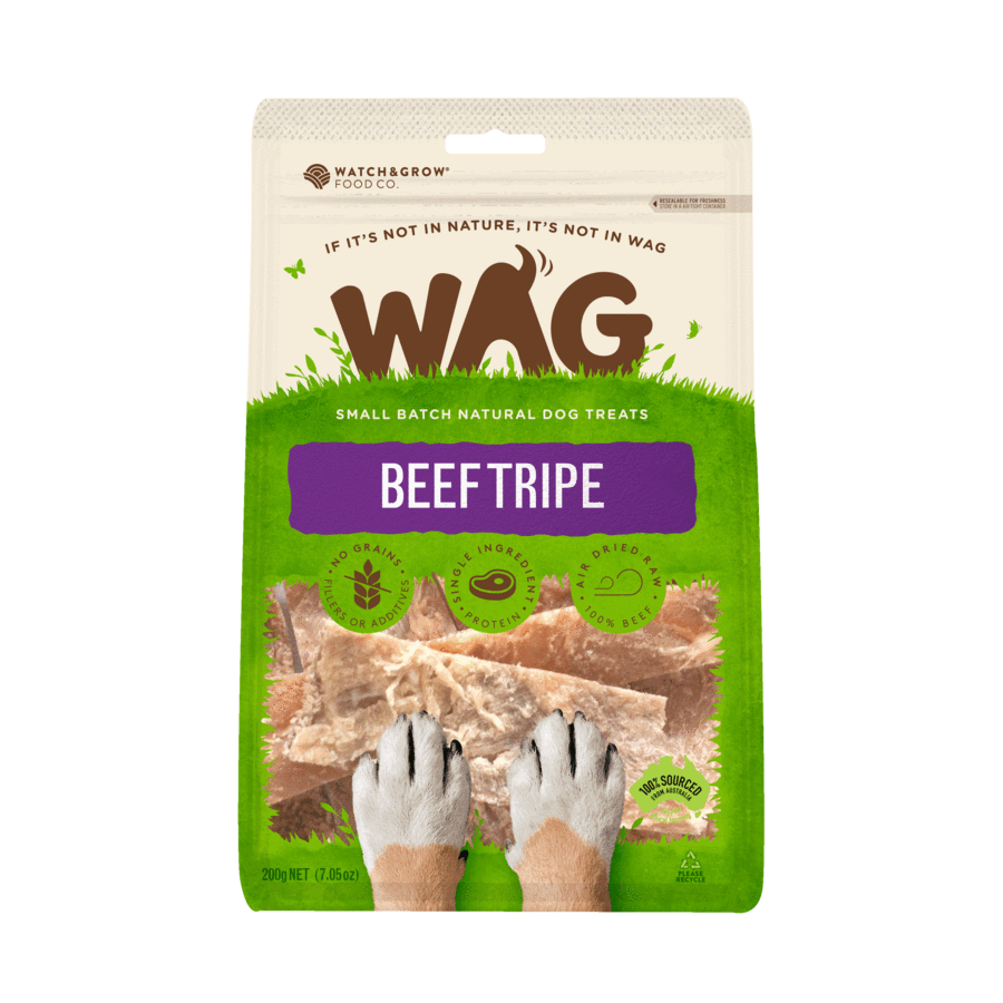 Wag - Green Beef Tripe Treats - Chubbs Bars, Treats - pet shampoo, Woofur - Chubbs Bars Company, Woofur Natural Pet Products - Chubbs Bars Canada