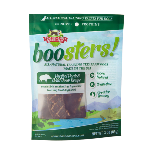 Boo Boo's Best - Pork & Wild Boar Treats - Woofur Natural Pet Products