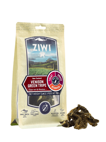 Ziwi - Venison Green Tripe Chews Treats - Chubbs Bars, Treats - pet shampoo, Woofur - Chubbs Bars Company, Woofur Natural Pet Products - Chubbs Bars Canada