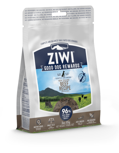 Ziwi - Beef Dog Treats - Chubbs Bars, Treats - pet shampoo, Woofur - Chubbs Bars Company, Woofur Natural Pet Products - Chubbs Bars Canada