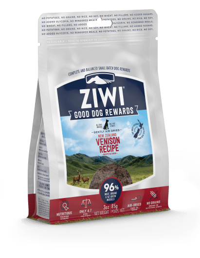 Ziwi - Venison Dog Treats - Chubbs Bars, Treats - pet shampoo, Woofur - Chubbs Bars Company, Woofur Natural Pet Products - Chubbs Bars Canada