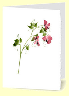 CG-006 Stem Of Pink Flowers