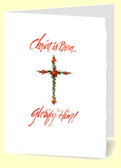 CS-003 Christmas/Nativity (Floral Cross)