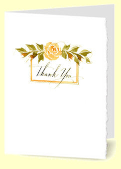 CT-011 Thank You (golden rose)