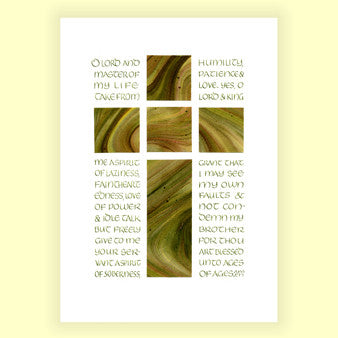 PP-008 Lenten Prayer of St Ephraim (5x7)