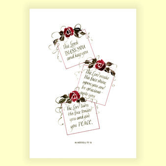 PS-004 The Lord Bless You - Num 6:24 (8x10)