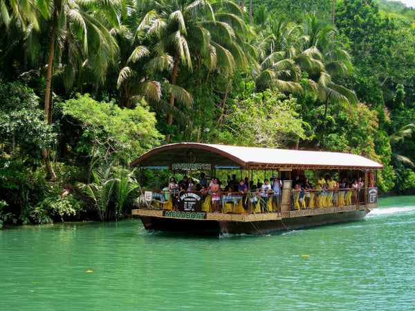 VERA DE NERO: Loboc Bohol River Watch, Philippines