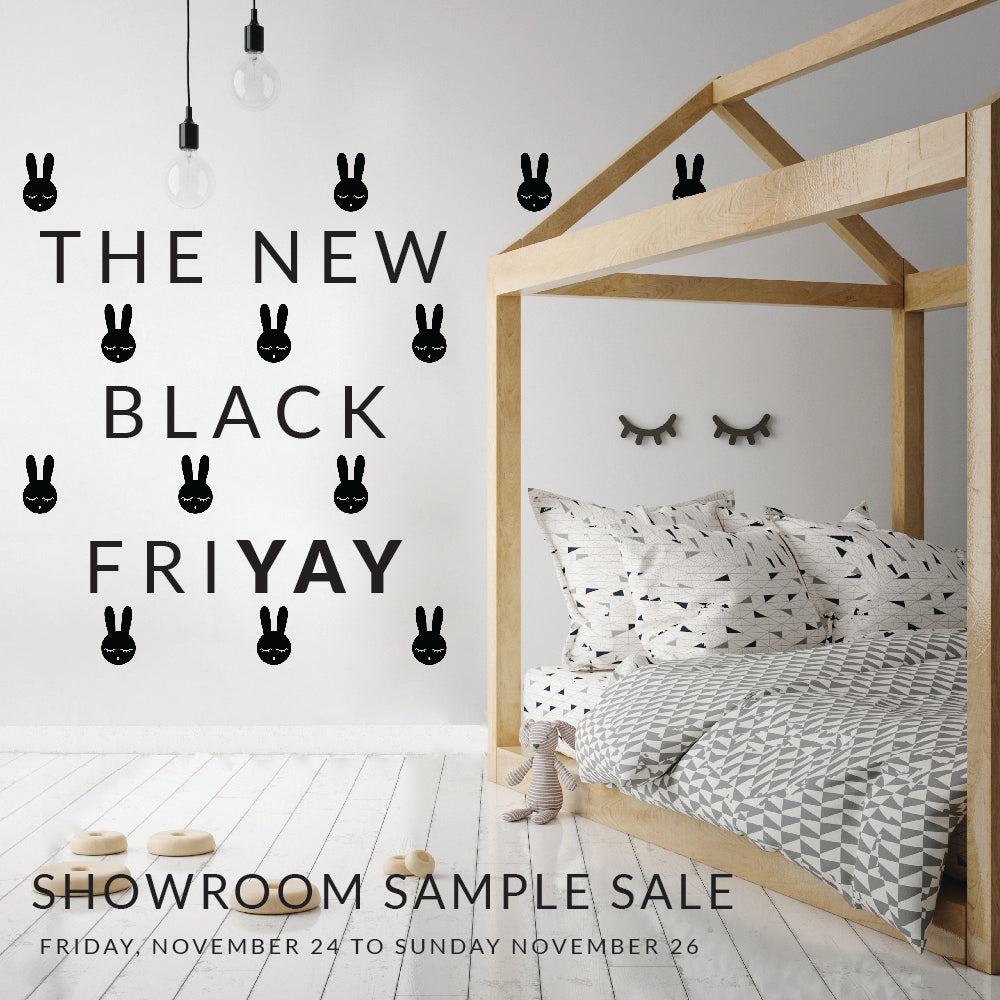 What's New // New Black Fri-YAY Showroom Sale