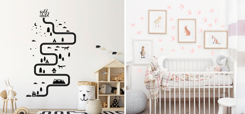 Style Empty Walls, Decorate Walls, Wall Decor, Drill-fee wall decor ideas, wall decals, shop wall decals and stickers singapore, kids decor store singapore