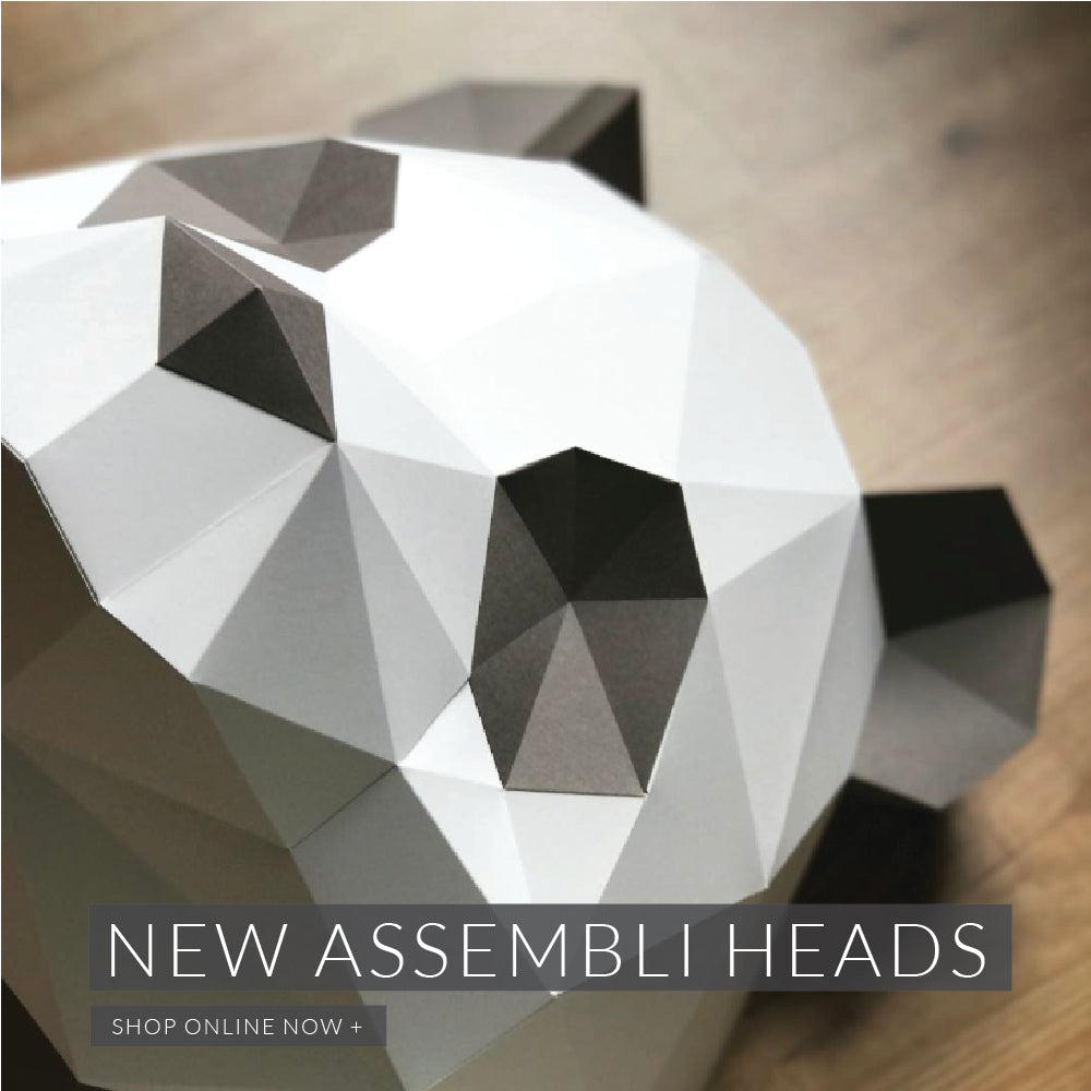 New Assembli Sculpture Animal Heads
