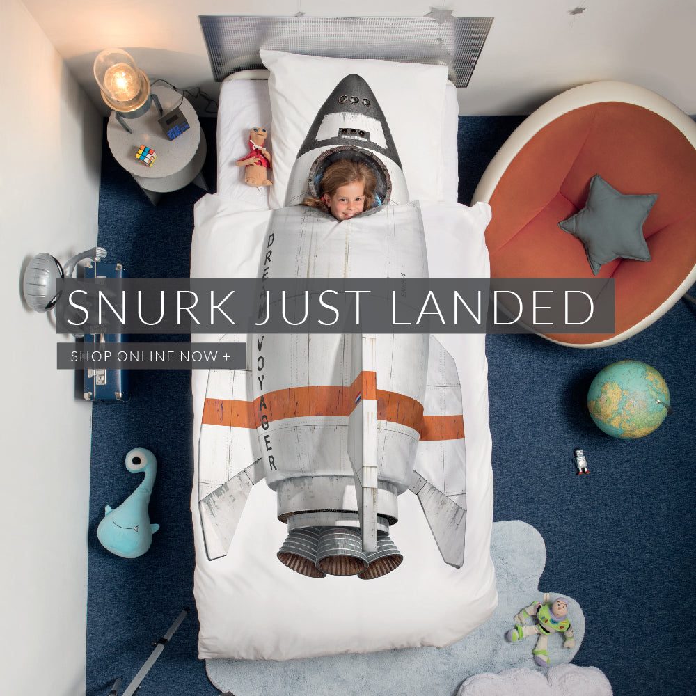 New Snurk Bedding for Children, Toddlers and Junior Sizes Just Landed