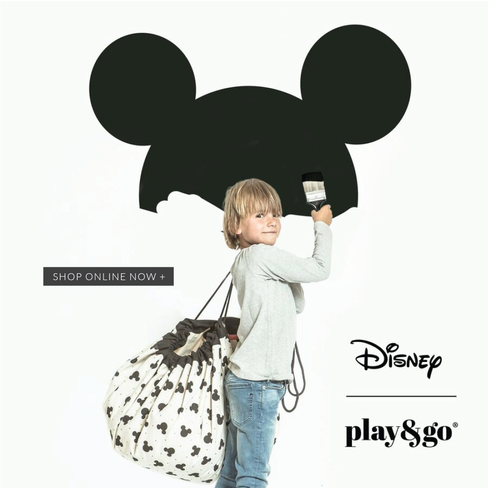 New Play & Go Disney Mickey Minnie Mouse Storage Bags For Teens, Children, Toddlers and Babies