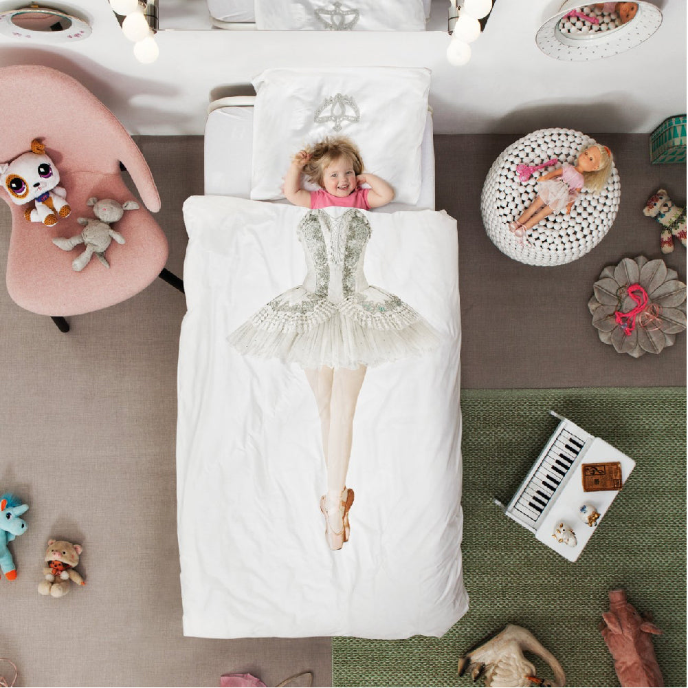Toddler Junior Bedding SNURK Ballerina