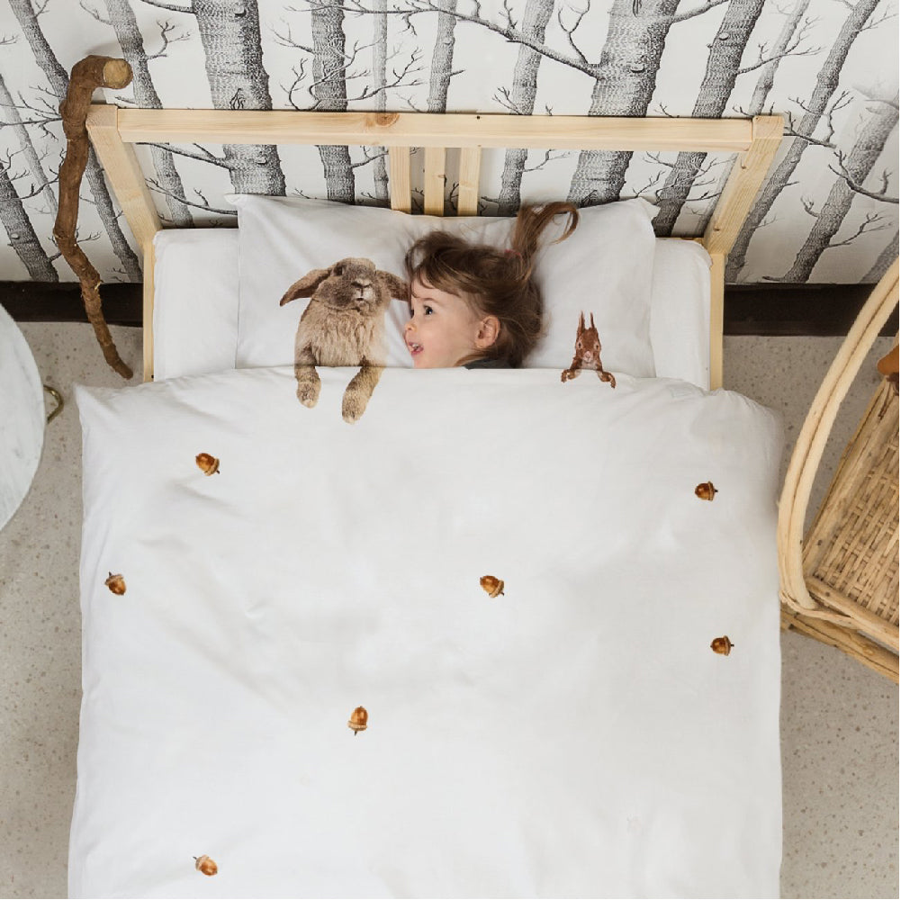 Toddler Junior Bedding SNURK Furry Friends