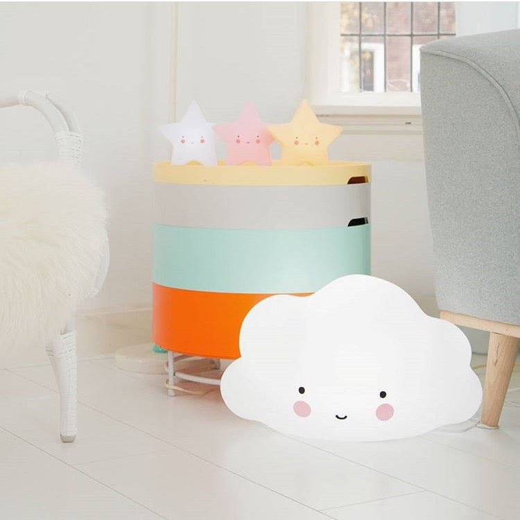 A Little Lovely Company Big White Cloud Light
