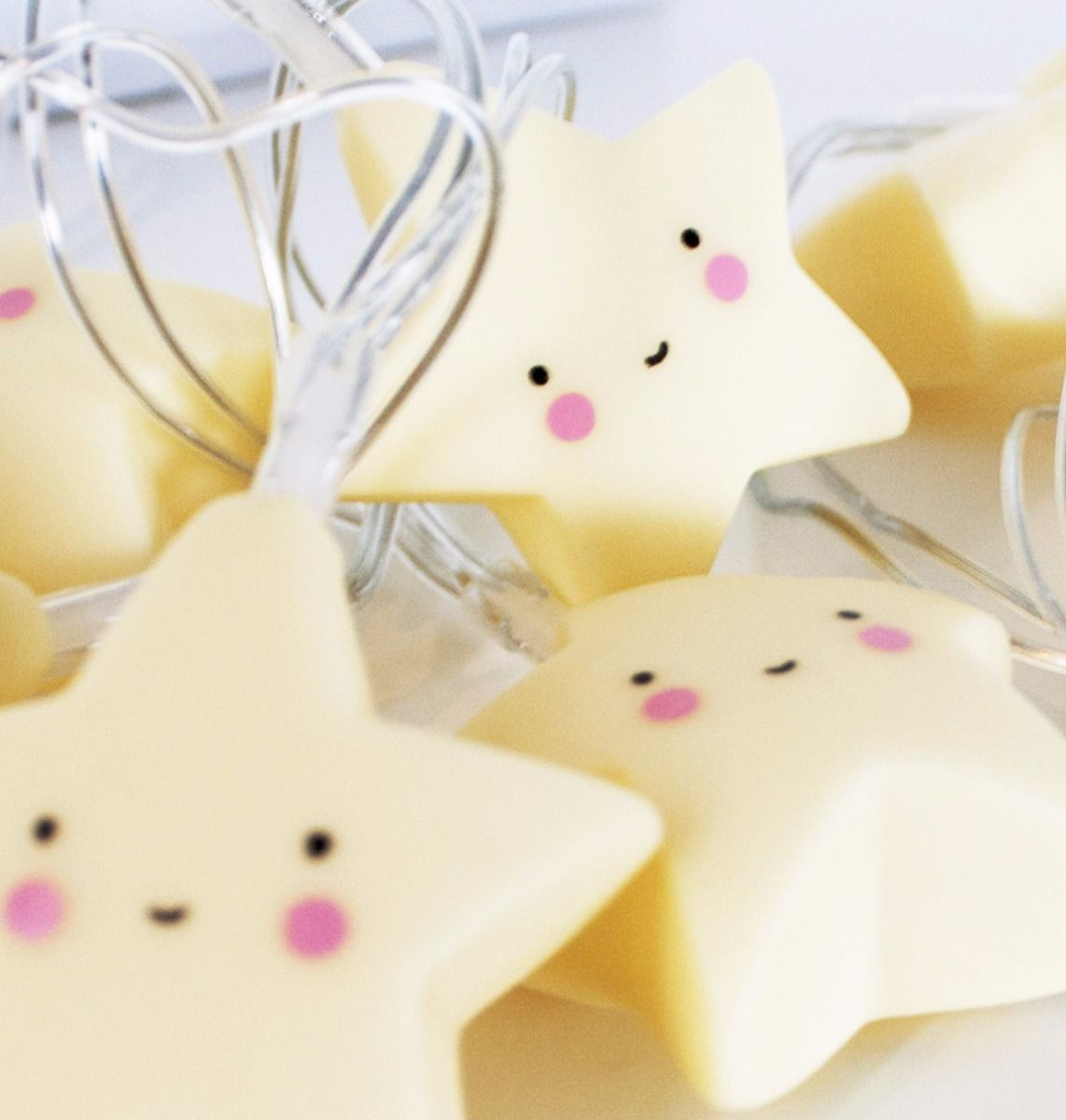A Little Lovely Company Yellow Stars String Lights