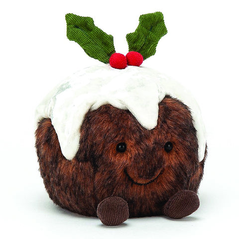 Jellycat Soft Toy Amuseable Christmas Pudding
