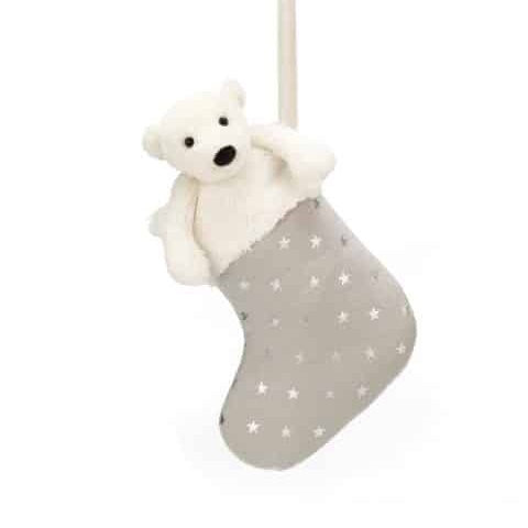 Jellycat Stocking Bashful Polar Bear