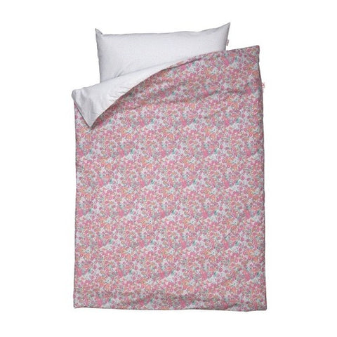 Duvet Cover Flower Fuchsia Toddler Size