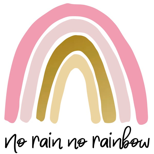 Wall Decal Rainbow (large) Mix Pink