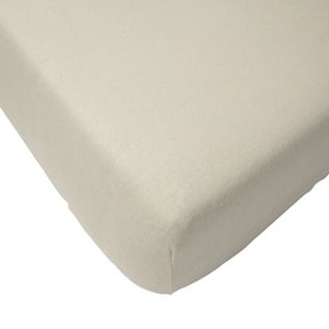 Fitted Sheet Cotton 75x150 White