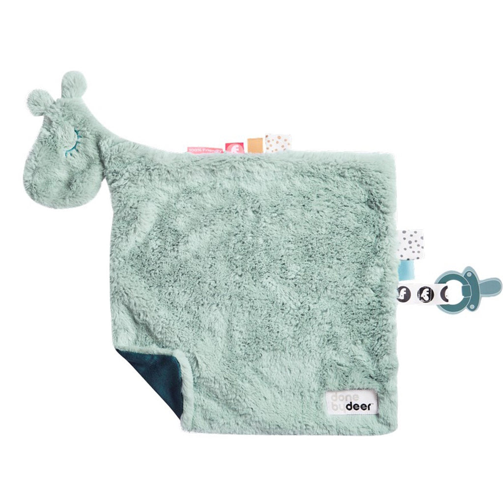 Comfort Blanket Soother Raffi Blue