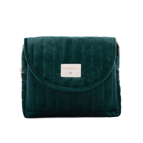 Nobodinoz Maternity Case Velvet Jungle Green