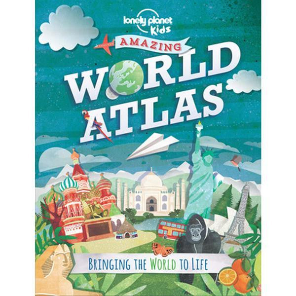 Lonely Planet Book Kid's World Atlas